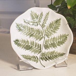 Vintage handmade Botanical Plate